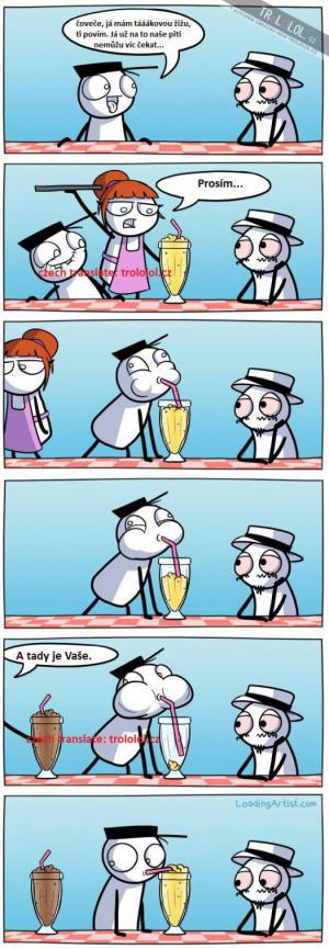 Žízeň v baru
