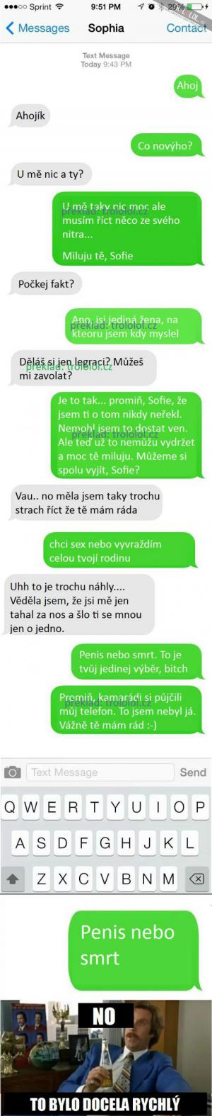 Romantika v SMS