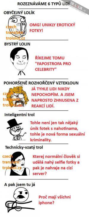 6 typů lidí