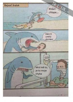 Žralok chudák