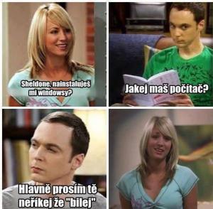 Penny a Sheldon