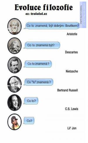Evoluce filozofie