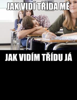 Já ve třídě