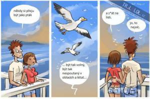 Chci být jako pták