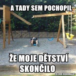 konec dětství