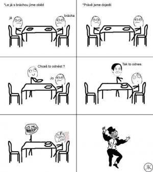 Oběd s bráchou