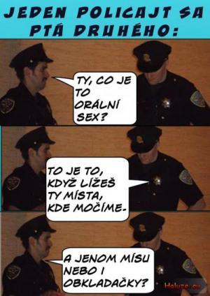 Policajti nezklamali