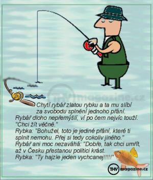 Vtípek o rybářovi