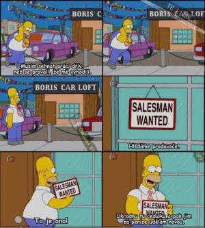 Homer krade