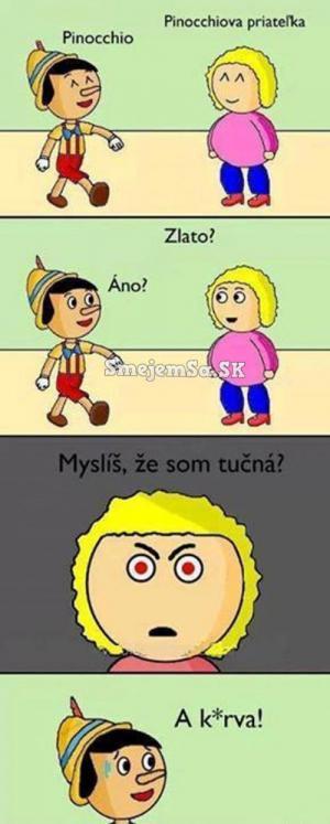 Pinocchio má problém