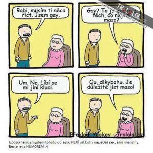 Babička nezklame