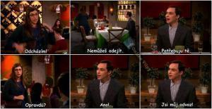 Sheldon a jeho holka