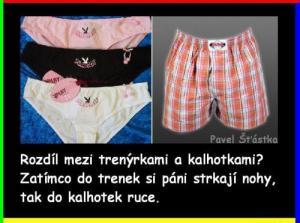 Pravda o kalhotkách