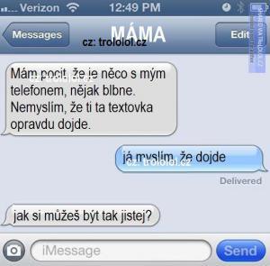 Máma a její logika