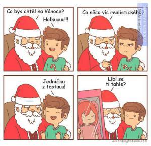 Co bys chtěl k Vánocům?
