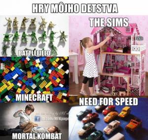 Hry mého dětství