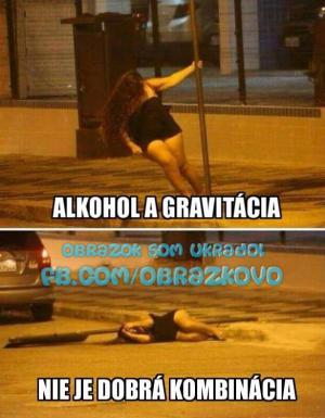 Alkohol a gravitace