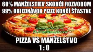 Pizza a manželství