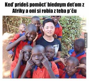 Děti z Afriky