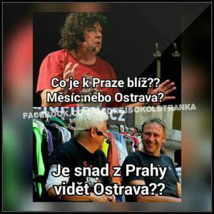 Praha a Ostrava