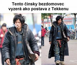 Čínský bezdomovec