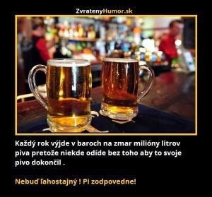 Pij zodpovědně!