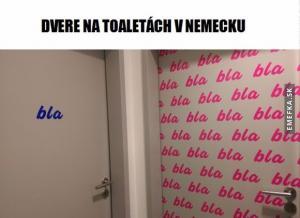 Záchody v Německu