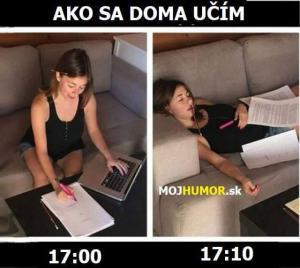 Jak se doma učím