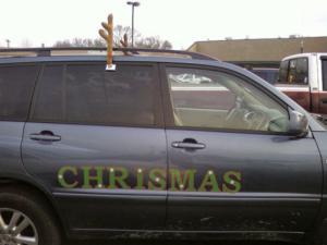 Vánoční auto