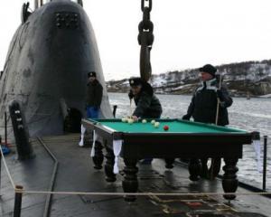 Kulečník na ponorce
