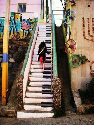 Klavírové schody