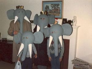 Slonní rodinka