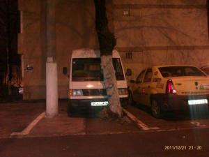Originální parkovací místo