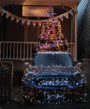 Vánoční auto 2