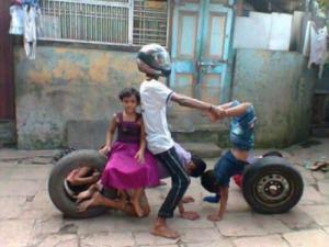 Motorka z lidí