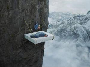 Nebeská postel