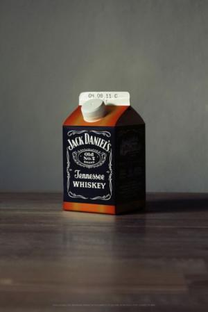 Jack Daniels mléko