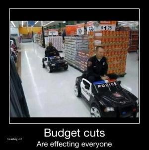 Policie v supermarketu