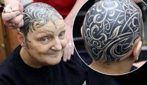 Tetování hlavy