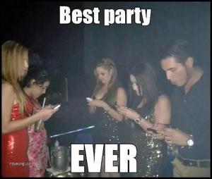 Mobily kazí párty