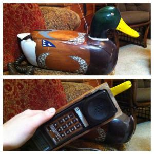 Kachní telefon