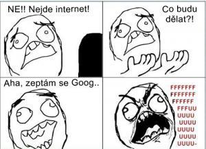 Nejde internet