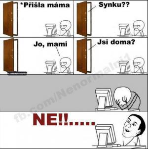 Maminka je doma
