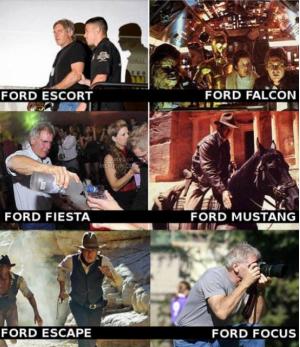 Ford a různé typy