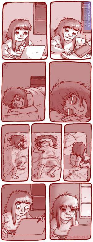 Chce se mi spát... a teď zase ne.