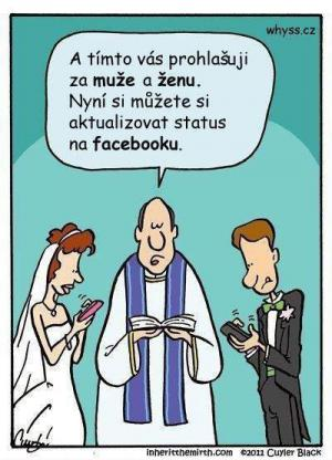 Svatba na FB
