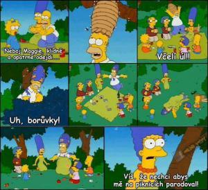 Homer a Marge