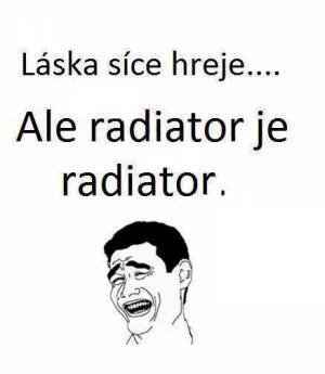 Láska a radiator