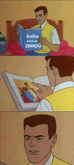 Kniha zmrdů
