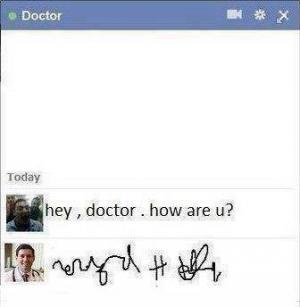Doktorské písmo